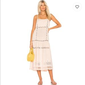 Free People This is It Slip Dress in Peach NWT